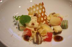 #chefsfriends Oude kaas, watermeloen, spekkoek en balsamico, By Ruben van Dieten in Leidschendam.