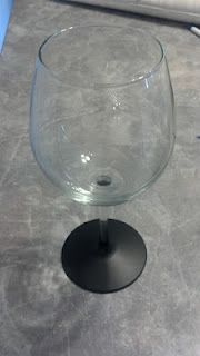 Chalkboard Paint Wine Glasses Tutorial