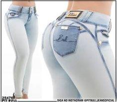 Calça Jeans Pit Bull Levanta E Modela Bumbum Cód 25709(enc)* - R$ 289,60