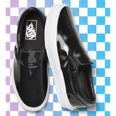 New obsession: Vans Patent Leather Slip-On