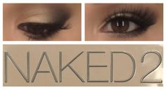 Urban Decay Naked 2 Tutorial - a little too heavy for me but great basics with brush and color combos