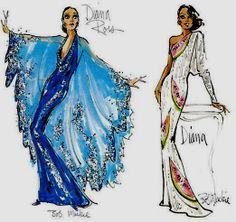 ideas sport fashion sketch bob mackie for 2019 Sport Fashion, Love Fashion, Fashion Art, Vintage Fashion, Fashion Design, Fashion Ideas, Fashion Outfits, Costume Design Sketch, Ella Enchanted