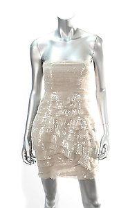 ALICE + OLIVIA SEQUIN RAW EDGE LAYERED DRESS Size 2  Retail: $597  PlushAttire.Com Price: $179  70% OFF RETAIL!  #fashiondeals