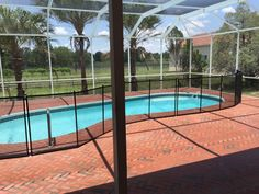 Debary Pool Safety - Pool fences protect young children from accidentally falling in spas and swimming pools. #PoolSafetyFence #PoolSafety #BabyBarrier