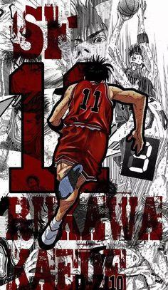 Basketball Manga, Basketball Park, Slam Dunk Manga, Really Cool Wallpapers, Manga Anime, Inoue Takehiko, Gunslinger Girl, Nba Wallpapers, Kawaii Drawings