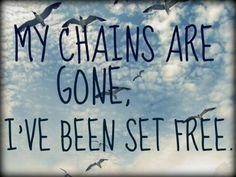 ...my God, my Savior has ransomed me...