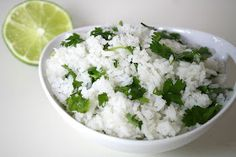 The Garden Grazer: Cilantro Lime Rice