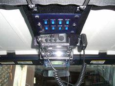 Resultado de imagen de truck overhead storage console