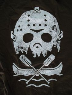 ShirtPunch! Friday The 13th JASON Mask and Boat T-shirt Large NEW! With Tags in Entertainment Memorabilia, Movie Memorabilia, Merchandise & Promotional | eBay