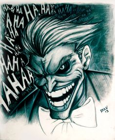 Joker Charcol by Crazy-Mutha.deviantart.com on @deviantART