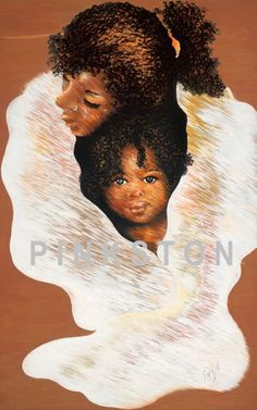 Contributing to Black Art in America, Reflecting a Way of Life, Colorfully Celebrating with Images of Life's Experiences. Fine Art and Prints. That's My Mama, Mother Son, Mothers Love, Life Images, Black Art, Child, Crystal, Fine Art, Celebrities