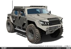 Vehicle originally designed for the antagonist in Call of Duty: Ghosts