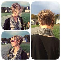"bf06518293135abe462a02305cbe7561.jpg (736×736) [ ""Like cut and color."" ] # # #Hairstyle #Ideas, # #Hair #Ideas, # #Asymmetrical #Pixie, # #Short #Asymmetrical #Hairstyles, # #Pixie #Bob, # #Short #Cuts, # #Short #Hairstyles, # #Short #Haircuts, # #Hair #Inspiration"