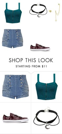 """Untitled #54"" by brie-sadler on Polyvore featuring Pierre Balmain, Element, Converse and Bling Jewelry"