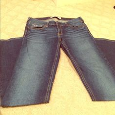 Hollister Jeans in great condition! only worn a few times - grew out of them! Hollister Pants Straight Leg