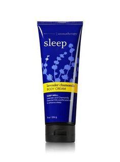 Bath & Body Works AROMATHERAPY Sleep LAVENDER CHAMOMILE Body Cream 8 oz