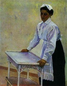 Sasha, Mikhail Nesterov, 1915