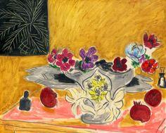 Turhan Nacar-HENRİ MATİSSE... _____________________________________________Henri Matisse ANÉMONES ET GRENADES