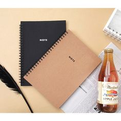 2Young Modern wirebound small lined notebook - fallindesign