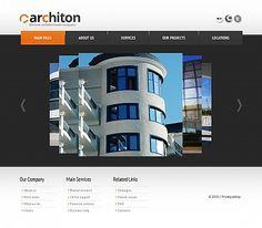 Architecture //  Moto CMS HTML // Template #43234