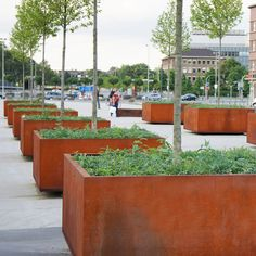 Tree guards | Urban planters | CorTen | Streetlife. Check it out on Architonic