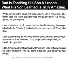 Dad Is Teaching His Son A Lesson. What His Son Learned Is Truly Amazing.