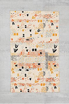 Shop Confetti Fields Rug at Urban Outfitters today. Urban Outfitters, Funny Welcome Mat, Colorful Apartment, Apartment Ideas, Discount Bedroom Furniture, Weaving Textiles, Textile Prints, Throw Rugs, Home Gifts