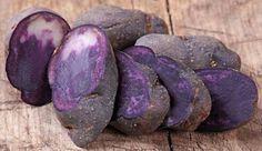 Purple potatoes ,lowers BP.