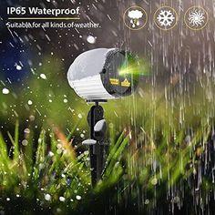 Christmas Projector Laser Lights Star Decor Outdoor Waterproof Party Garden for sale online
