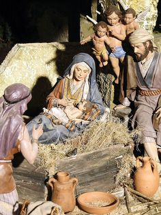 Belén del Ayuntamiento de Madrid en Navidad 2009