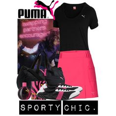 Sporty Chic, created by kmp11 on Polyvore