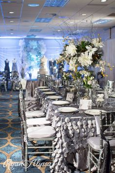 "Wedding Festivals ""Pure"" theme display at the Hyatt."