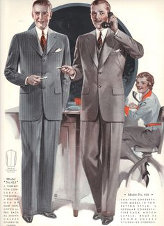 ed6bf1981d0 1930s vintage clothes. Windsor Tailoring Company Style Book Autumn 1935 to  Winter 1936