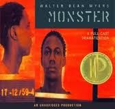 """""""Monster"""" by Walter Dean Myers  Contemporary Fiction"""