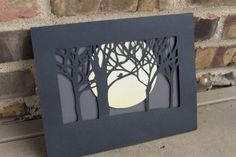 paper cut image and tutorial
