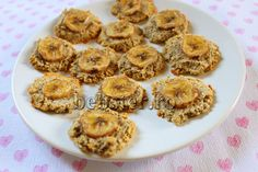 Biscuiti de casa ciufuliti, cu banane, fara cereale