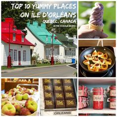 10 yummy places to visit on Île d'Orléans, Québec, Canada – The FoodOlic recipes Quebec Montreal, Old Quebec, Quebec City, Canada Travel, Travel Usa, Canada Trip, Discover Canada, Destinations, Little Island