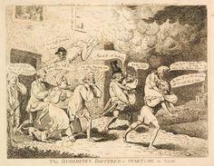 FOR DESCRIPTION SEE GEORGE (BMSat). 10 December 1791.  Etching