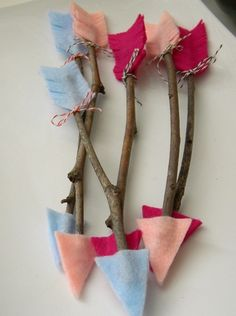 Valentine's Day Craft with Kids - Cupid Arrow