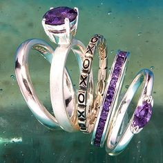 Celebrity Stackables celebrates the trends with their collection of sterling silver rings. Wear one at a time for minimalist simplicity or stack them on every finger for free-spirited style.