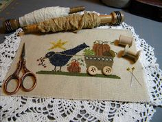 Delivering Harvest from the blog Becky Bee's Stitching Hive