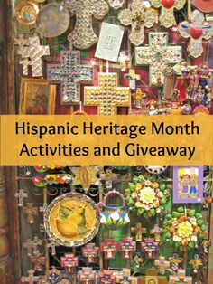 Hispanic Heritage Month activities for teachers and parents to share with kids. Recipes, crafts, book suggestions, printables and sources of information. #HHM #HispanicHeritageMonth