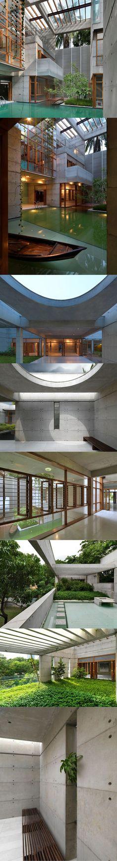 2010 Shatotto - SA Residence / Dhaka Bangladesh / Asia / wood concrete