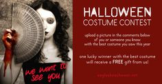 Show us the cutest, craziest or creepiest Halloween costume you saw this weekend! Upload your picture in the comments on Facebook and come back on Friday to find out the WINNER of our costume contest - don't miss your chance to get a FREE mystery gift from Eagles Beachwear!