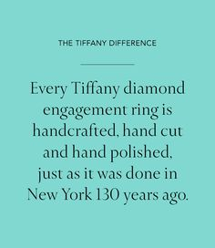 Because the best diamonds in the world deserve the best craftsmanship.