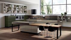 Cuisine équipée haut de gamme Tetrix | Scavolini site officiel
