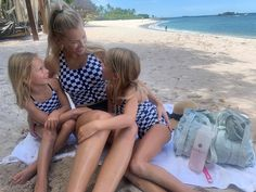 "@jesstoolson on Instagram: ""GIVEAWAY! Nothing was more fun than being matchy matchy with my girls in our @rad_swim !! I loved how many times Remi and Marlo said, ""we…"""