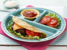 Kids Can Make: Taco Cheeseburger Recipe : Food Network Kitchen : Food Network - FoodNetwork.com