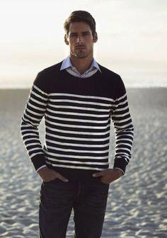 Horizontal Stripes for Men