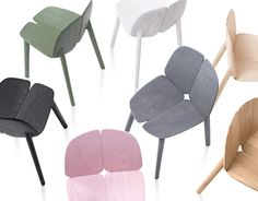 Osso Chair by Ronan & Erwan Bouroullec for Mattiazzi distributed by Herman Miller